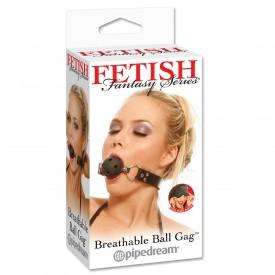 Кляп с отверстиями Breathable Ball Gag