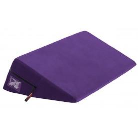 Фиолетовая малая подушка для любви Liberator Wedge